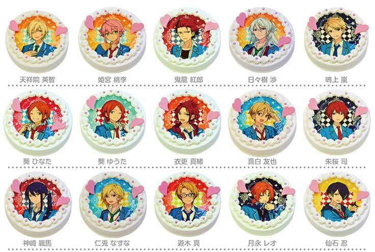 あんさんぶるスターズ!キャラクターケーキ(全33種) :ensta-cake-01:アニメイトカフェ - 通販 - Yahoo!ショッピング