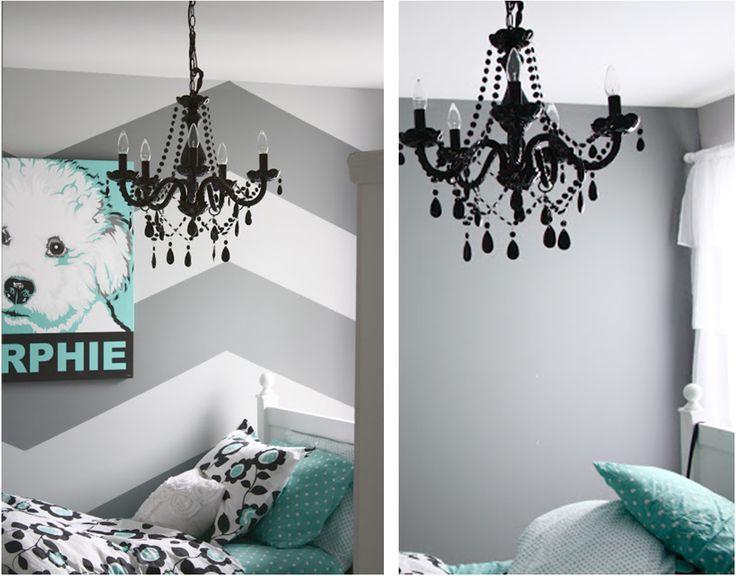 Tutorial para transformar un dormitorio con pintura de dibujo en espiga