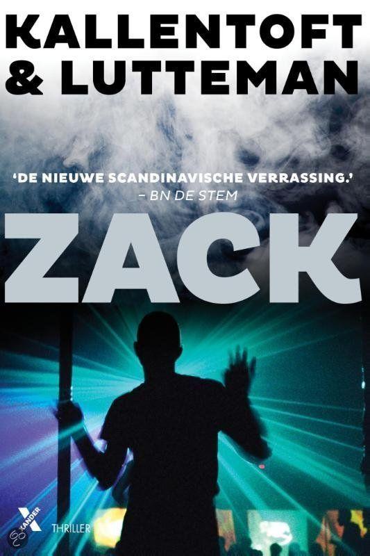 Zack -Mons Kallentoft & Markus Lutteman #Boekperweek Superspannende scandinavische thriller!