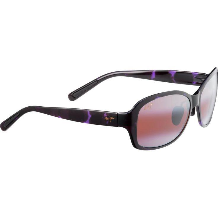 Maui Jim Koki Beach Sunglasses - Polarized - Women'sPurple Tortoise/Maui Rose