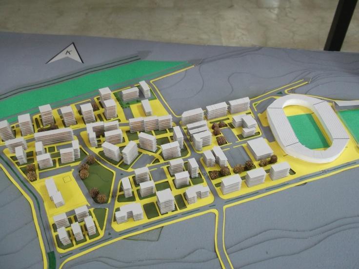 Avni Aker Stadyumu ve Yakın Çevresi (erman) :)