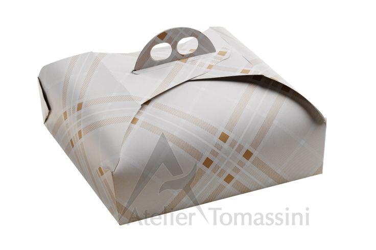 Tartan Chamoisee #packaging #ateliertomassini #portatorte #pasticceria #scatola #pastry #bakery #design #politenata #politenate #imballaggio #bakery #PE-protect