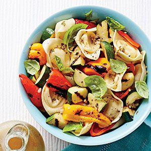 Tortelloni-and-Grilled Vegetable Salad | MyRecipes.com