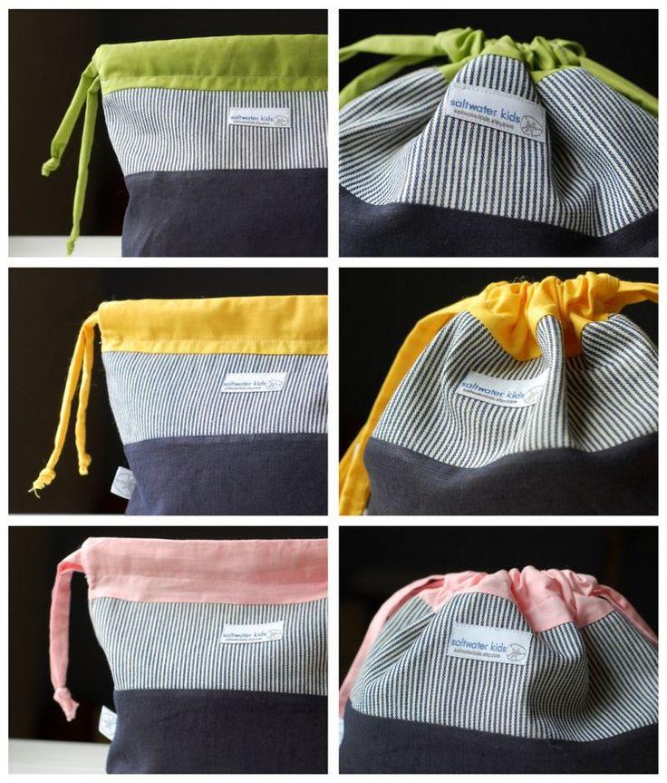 couture tutoriel | ENFANTS | artisanat | cadeaux faits à la main | sacs à pain | Kit fort | bricolage | étiquettes volantes eau salée-enfants