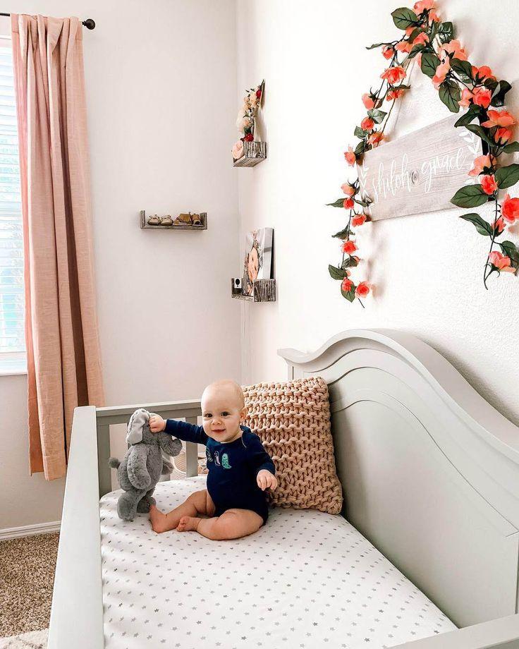 Baby girl nursery, nursery ideas, nursery ideas on a