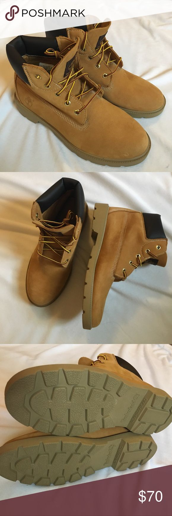 New Size 6 Youth Timberland Waterproof Boots Brand New Timberland Boots. They are a youth size 6 (Size 8 Women's and Size 6.5 Men's). These are waterproof and have never been worn. Perfect for all seasons!! Very open to offers!!!!! Timberland Shoes Boots