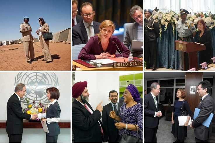 UN News Centre: Record number of women makes history at UN Security Council