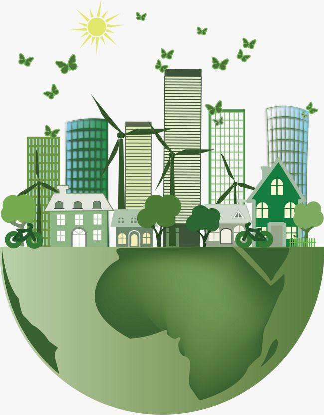 Prendre soin de l'environnement et d'économie d'énergie de vecteur de la terre, Vecteur, La Puissance De L'éolienne, L'énergie RenouvelablePNG et vecteur