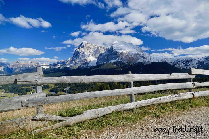 Da Compatsch a Laranzer Schwaige: una facile camminata per famiglie coi bambini tra i verdi prati e le splendide montagne dell'Alpe di Siusi
