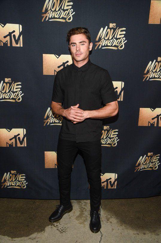 Zac Efron MTV Movie Awards 2016.