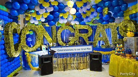 High school graduation party theme ideas high school for Decoracion de grado