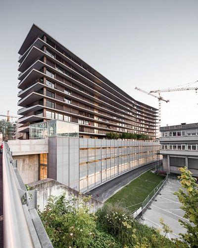 Genève, Switzerland IHEID Maison des étudiants LACROIX CHESSEX ARCHITECTES