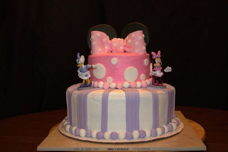 Minnie Mouse And Daisy Duck on Cake Central