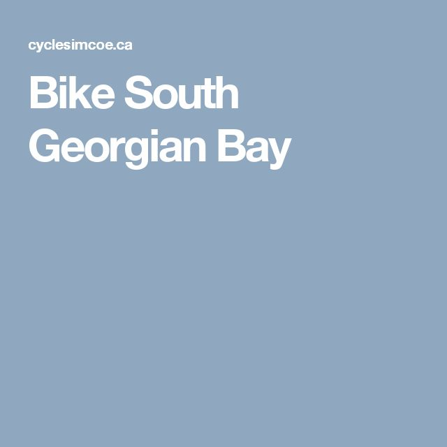 Bike South Georgian Bay