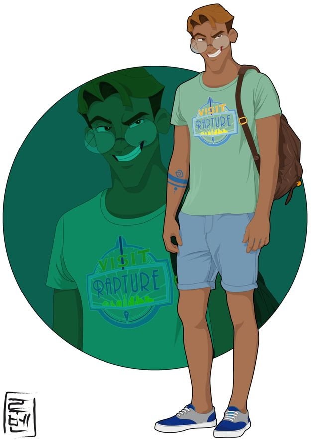 Milo - Atlantis: The Lost Empire   21 More Disney Characters As Modern College Students