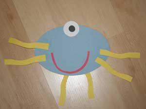 Paper shape monsters- cute math activity.