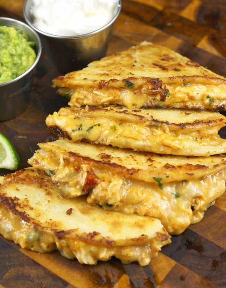 These sriracha chicken quesadillas are a great go to recipe great for a quick meal. Use left over chicken or grab a rotisserie chicken.