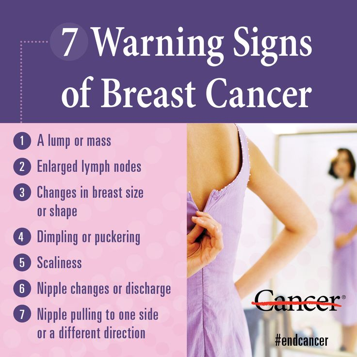 7 Early Signs Of Breast Cancer You Should Not Ignore Digikarma