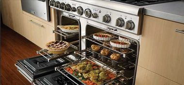Research for when I need to spend lottery winnings. Slide-in Ranges | Slide-in Gas Range Stoves by Thermador