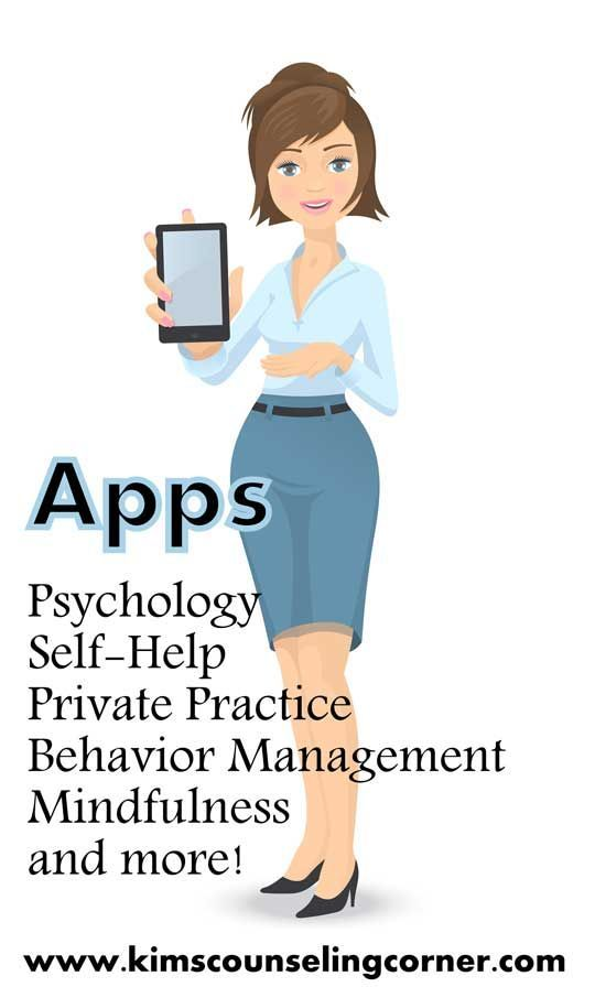 Useful Apps - Kim's Counseling Corner | Cool ideas so you can stay on top of your inner life Change your outlook #positivity #livepositively