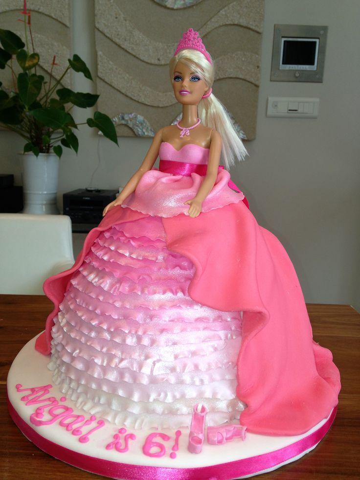 Dolly Varden / Barbie cake for Avi
