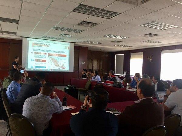 Realiza Gobierno Municipal taller sobre derechos de las personas migrantes | El Puntero