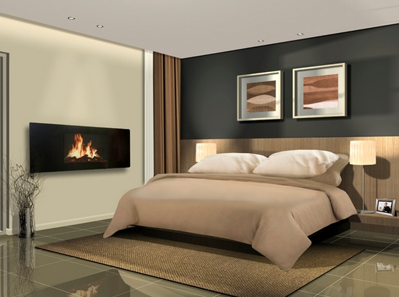 A Beautiful Celsi Panoramic Wall Mount Electric Fireplace Romantic Ambiance Pinterest Wall