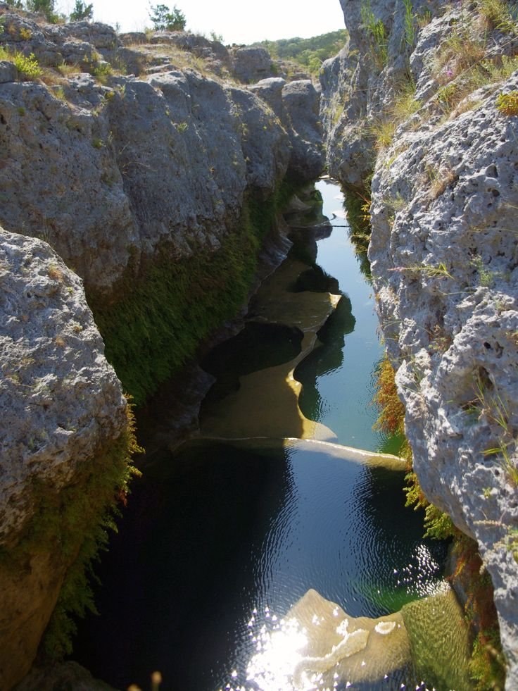 Narrows, Texas Hill Country.