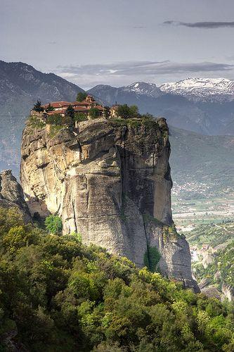 Meteora Monasteries, Greece - Monastery of the Holy Trinity