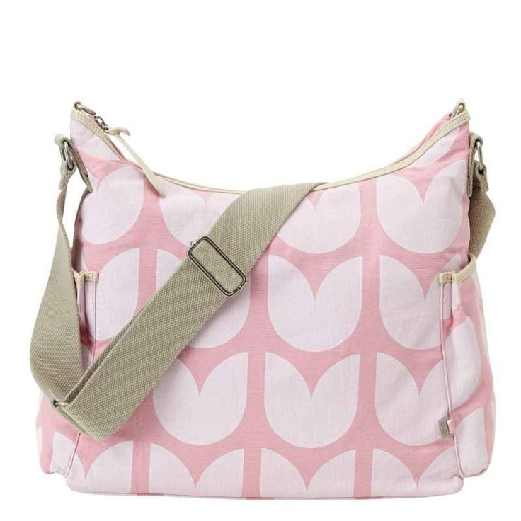 OiOi Hobo Nappy Bag - Tulip Pink