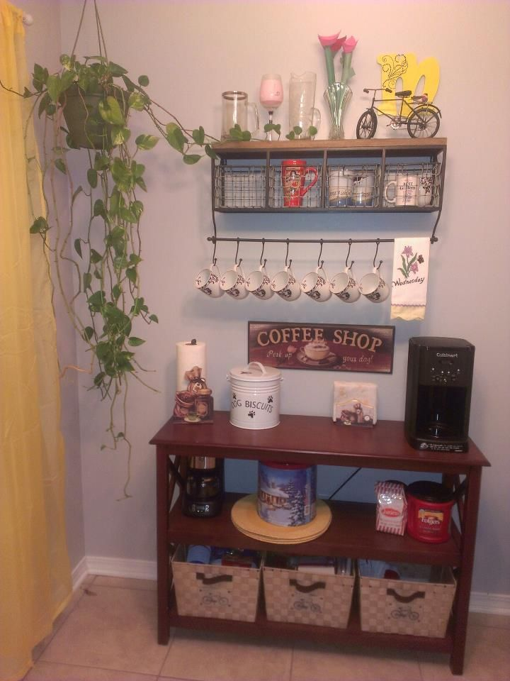 Coffee Bar~ I am really wanting to do this