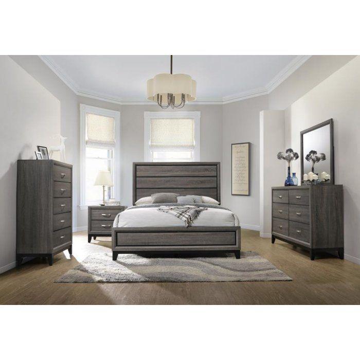 Balmer Standard Configurable Bedroom Set Bedroom Set Bedroom Sets Queen King Size Bedroom Sets