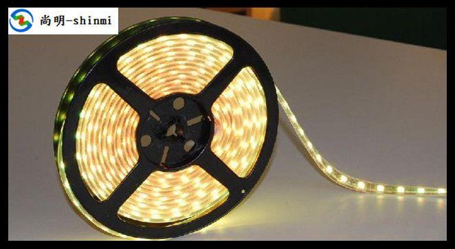 Теплый белый из светодиодов гибкие водонепроницаемые лампа с эпоксидно 3528 статья мягкий свет оптовая продажа