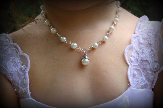 Flower Girl NecklaceFlower Girl GiftFlower Girl by dreamdaydesign, $22.00