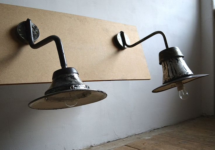 Industrial wall lamps (artKRAFT Original Industrial Furniture)