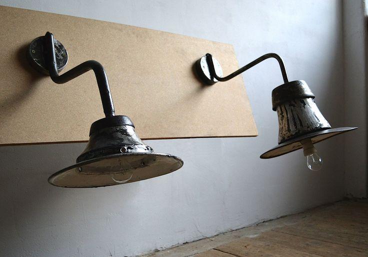 Industrial wall lamps (artKRAFT Original Industrial Furniture)