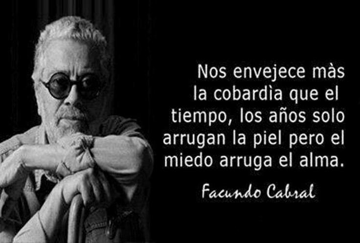 se le extraña, Cabral