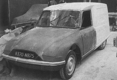 OG   Citroën Project F (then Project AP)   Clay model