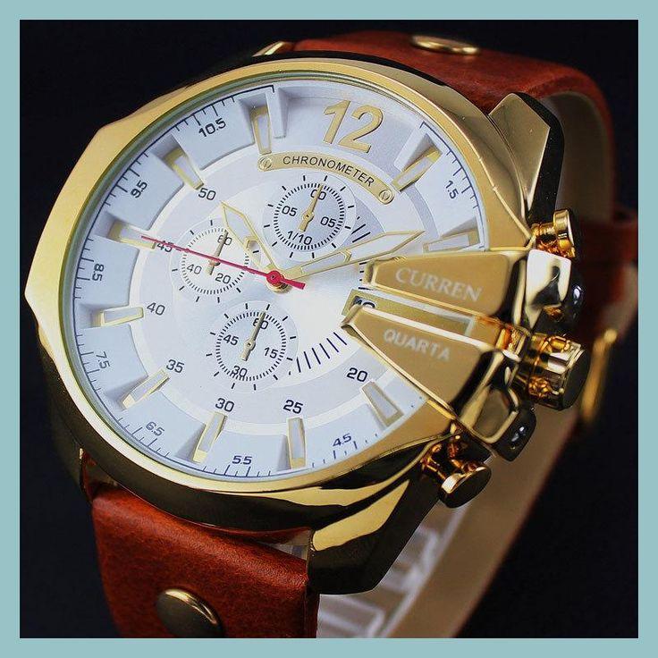 2016 Style Fashion Watches Super Man Luxury Brand CURREN Watches Men Women Men's Watch Retro Quartz Relogio Masculion For Gift