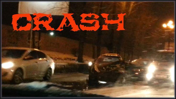 Авария Тойота Кариб и Тойота Королла Crash