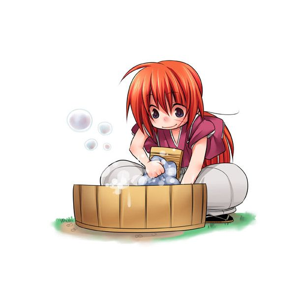 Rurouni Kenshin~For The Love Of Laundry