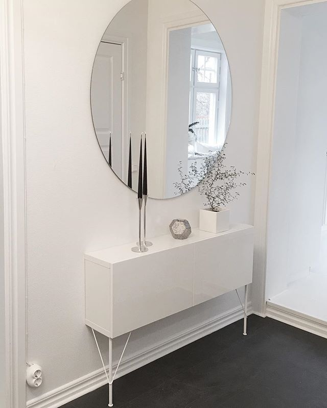 Mirror home decoration pinterest entr e entr es et for Notre maison minimaliste