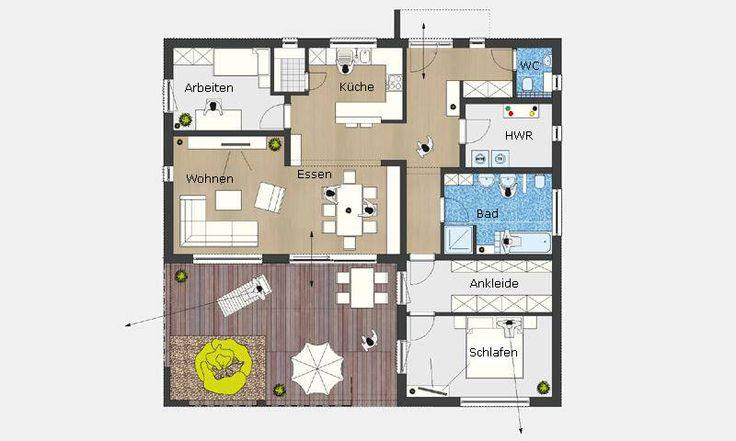 373 best images about grundrisse on pinterest. Black Bedroom Furniture Sets. Home Design Ideas
