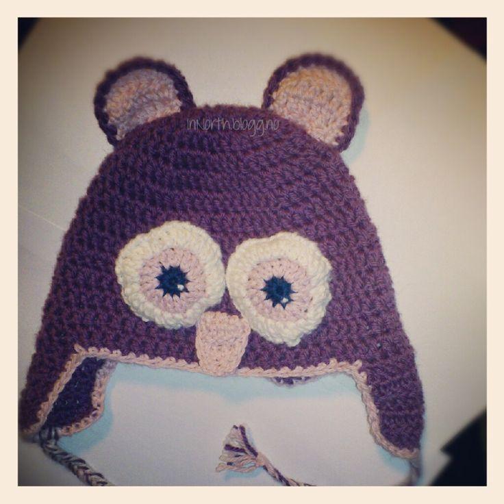 Instagram bilde Oppskrift på en uglelue HER og HER. Oppskrift til øyne, ører og nebb har je...