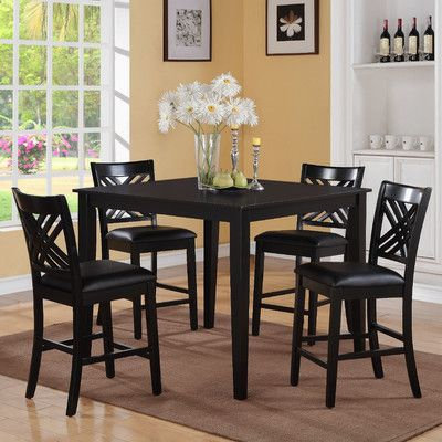 5-Piece Allison Pub Table Set | Joss & Main