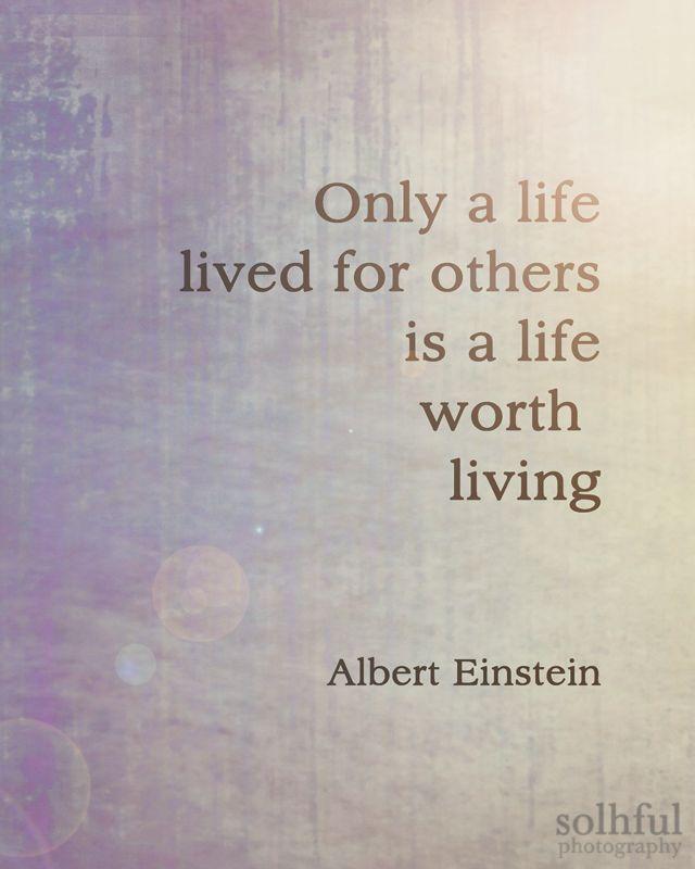 Albert Einstein Quote Digital Art Photography 8x10 Print