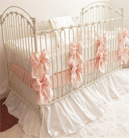 Emily Crib Linens in Pink