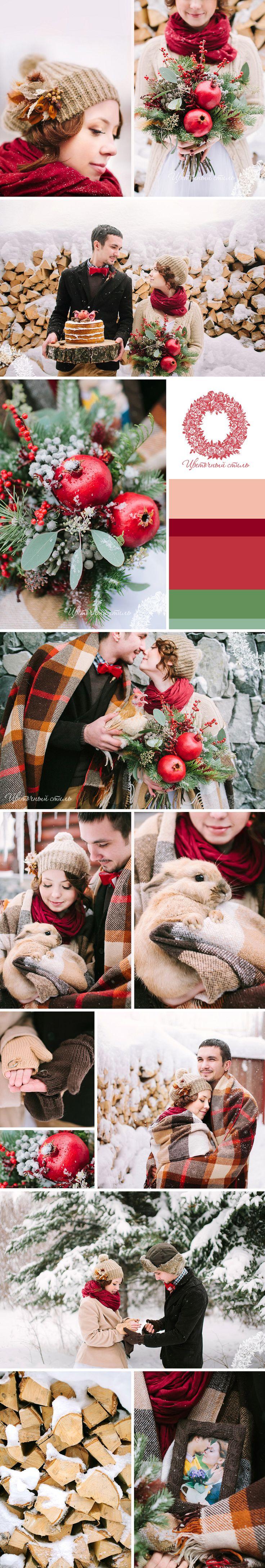 Зимняя свадьба. Совместный проект с фотодуэтом Postscriptum
