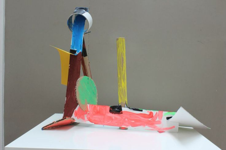 Art class at 3 House Club, London -Sculpture created by one of the children - inspired by the artworks of Anthony Caro (Reference: http://www.tate.org.uk/art/artists/sir-anthony-caro-865  ) https://www.facebook.com/media/set/?set=a.954540977905682.1073741846.439975816028870&type=1