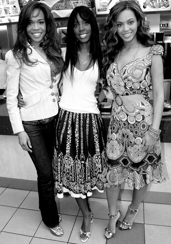 Destiny's Child  at McDonalds